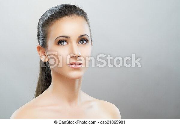 beauty portrait - csp21865901