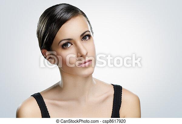 beauty portrait - csp8617920