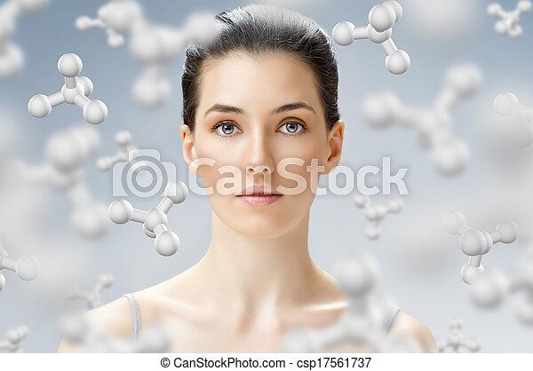 beauty portrait - csp17561737