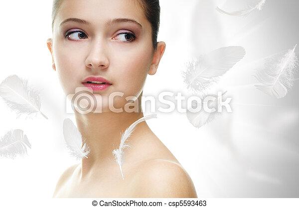 beauty portrait - csp5593463