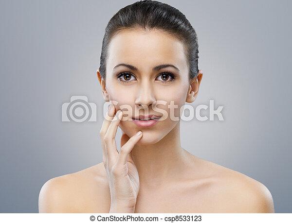beauty portrait - csp8533123