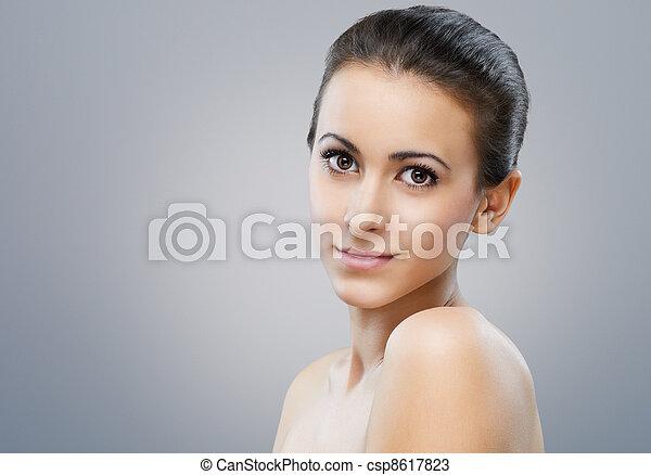 beauty portrait - csp8617823