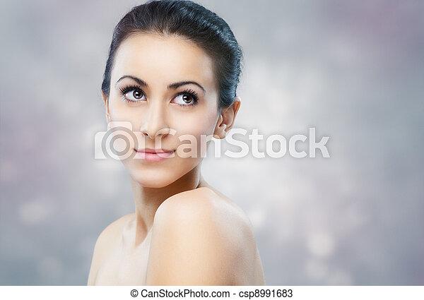 beauty portrait - csp8991683