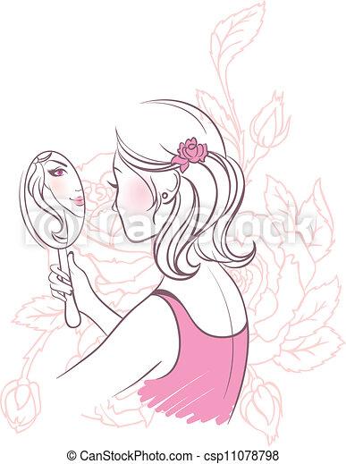 Beauty woman - csp11078798