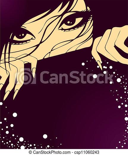Beauty woman - csp11060243