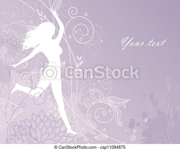 Beauty woman - csp11084875