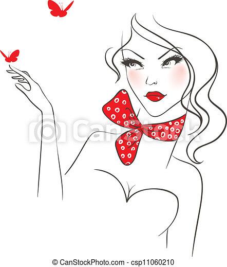 Beauty woman - csp11060210