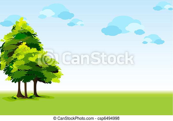 beautyful, landschaftsbild - csp6494998