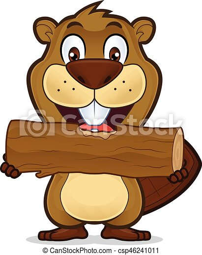 beaver eating wood clipart picture of a beaver cartoon vector rh canstockphoto com beaver clip art pictures free beaver clip art free