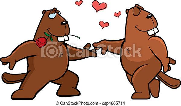 Beaver Romance - csp4685714