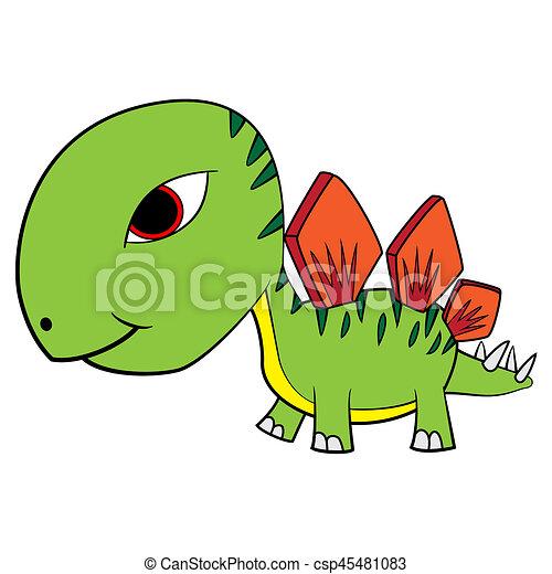 Dinosaurio Bebe De Dibujos Animados Ilustracion De Lindos Dinosaurios De Bebes De Dibujos Animados Canstock Los dinosaurios (denominación científica dinosauria, del griego deinos + saurus, lagartos terribles) son un grupo de. dinosaurio bebe de dibujos animados