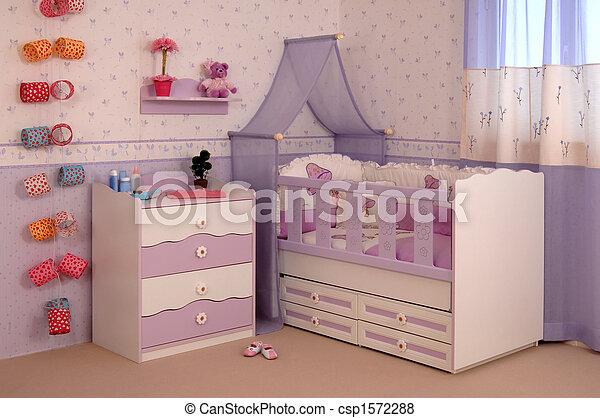 Cuarto de bebé - csp1572288