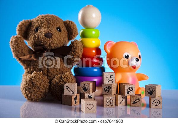 bebé, juguetes - csp7641968