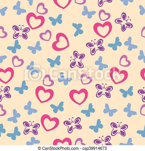 Lindo patrón de bebé sin costura. - csp39914673