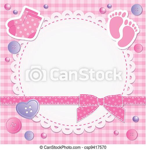 bebé, marco - csp9417570