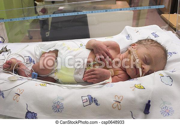 bebé, sueño - csp0648933