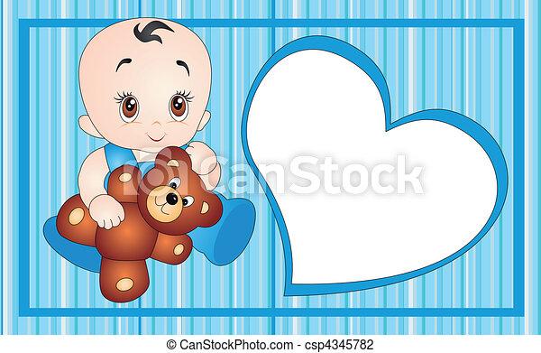 Vector de bebés - csp4345782