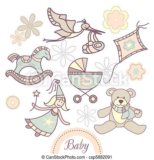 bebê, jogo, produtos - csp5882091
