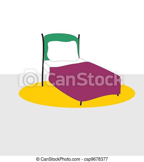 Bed - csp9678377