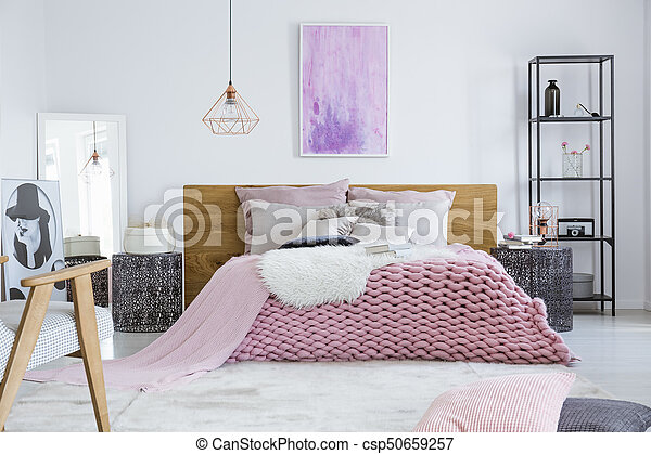 Bedroom designed for model - csp50659257