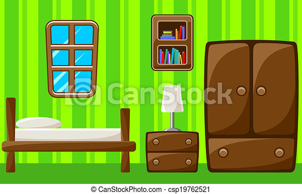 bedroom., interior. - csp19762521