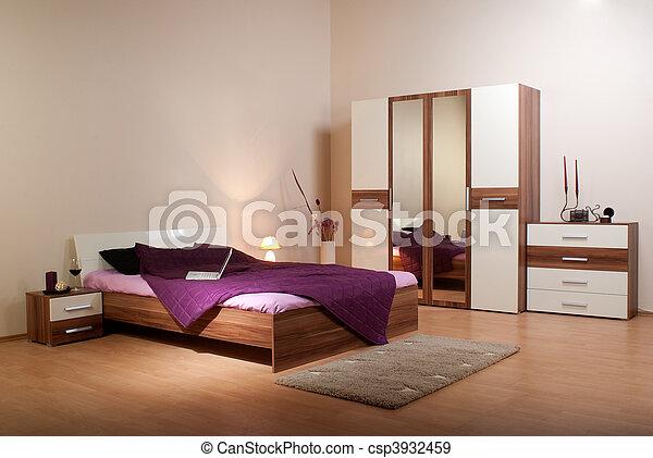 bedroom interior  - csp3932459
