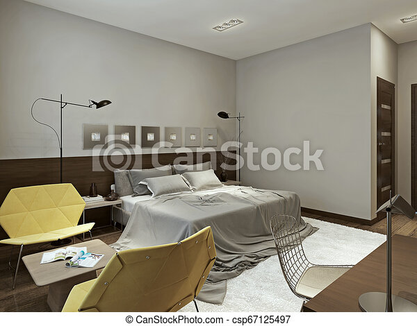 Bedroom minimalism style