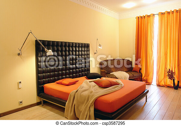 bedroom - csp3587295