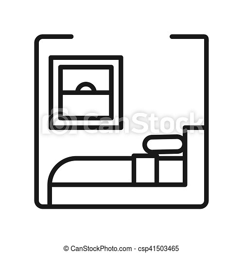 bedroom vector illustration design clip art vector search drawings rh canstockphoto com clipart bedroom black and white clip art bathroom signs