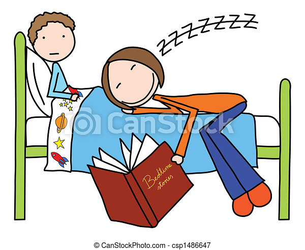 bedtime illustrations and clip art 6 133 bedtime royalty free rh canstockphoto com bedtime reading clipart bedtime clipart black and white