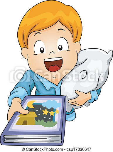 illustration of a little boy requesting to be read a bedtime eps rh canstockphoto com clipart bedtime story clipart bedtime routine