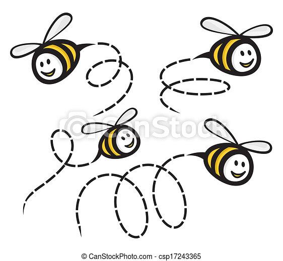 Bee  - csp17243365