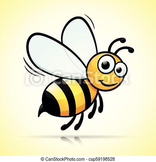 bee design on white background - csp59198528