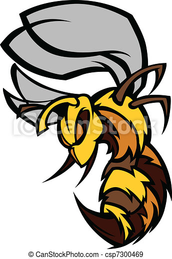 Bee Hornet Graphic Vector Illustrat - csp7300469
