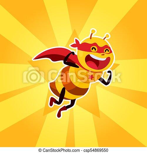 Bee Strong, vector - csp54869550