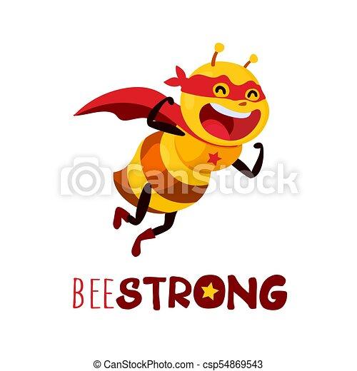 Bee Strong, vector - csp54869543