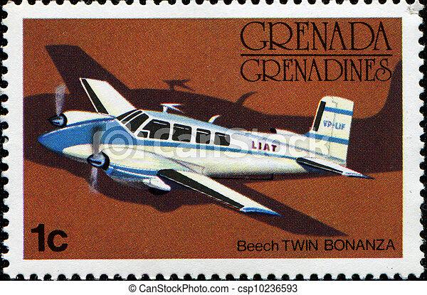 Beech Twin Bonanza  - csp10236593
