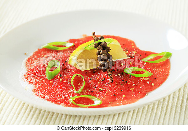 Beef Carpaccio  - csp13239916