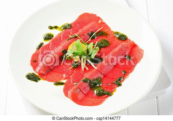 Beef Carpaccio  - csp14144777