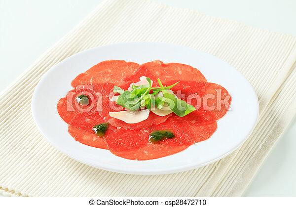 Beef Carpaccio - csp28472710