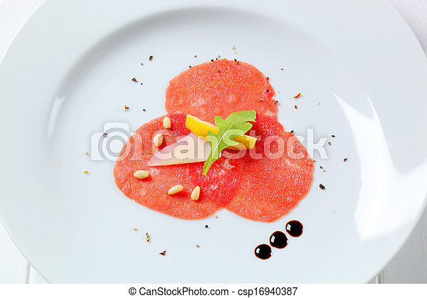 Beef Carpaccio  - csp16940387