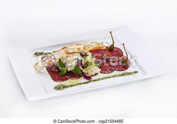 Beef carpaccio - csp21504485
