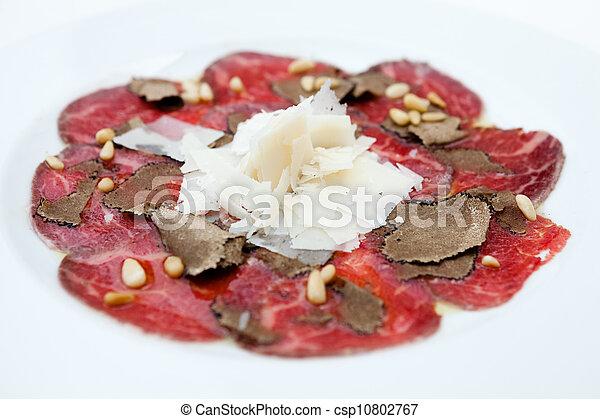 Beef carpaccio - csp10802767