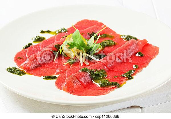 Beef Carpaccio  - csp11286866