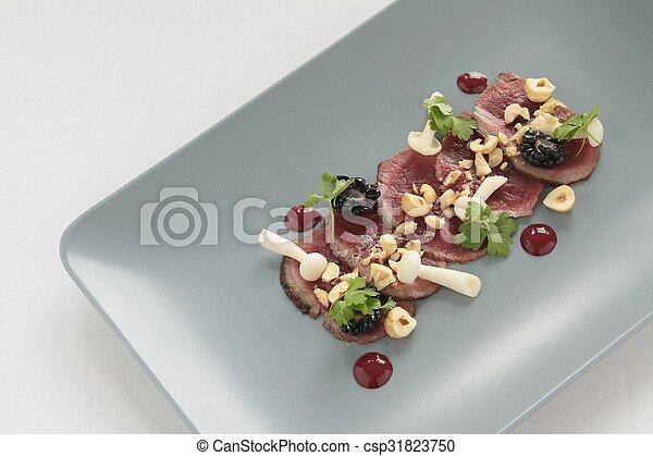 beef carpaccio - csp31823750