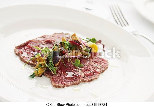 beef carpaccio - csp31823721