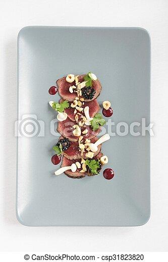 beef carpaccio - csp31823820