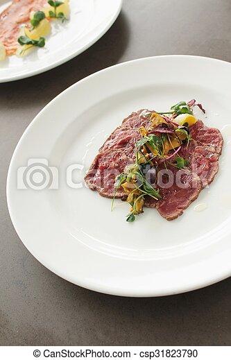 beef carpaccio - csp31823790