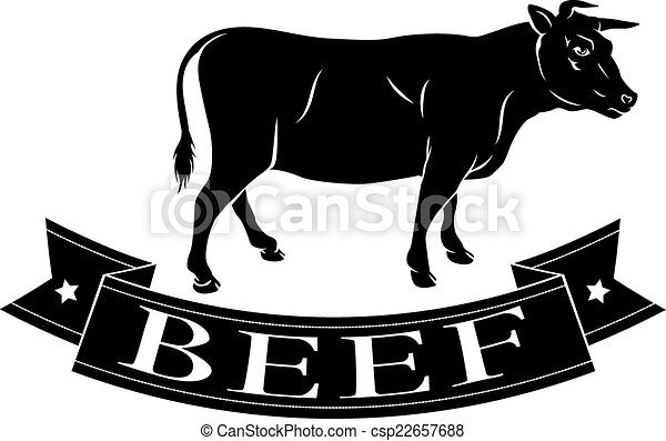 Beef food icon - csp22657688