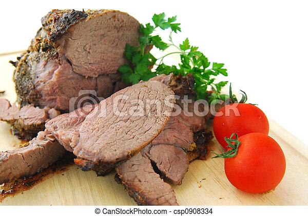 Beef roast - csp0908334